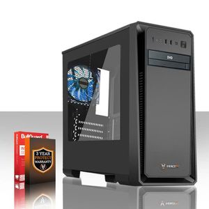 UNITÉ CENTRALE  Fierce EXILE PC Gamer de Bureau - AMD A-Series 740