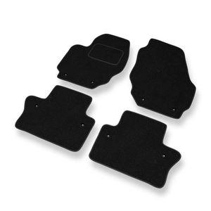 Caoutchouc tapis de sol pour volvo v70 xC70 s60 s80 car mats tapis /épouse original noir