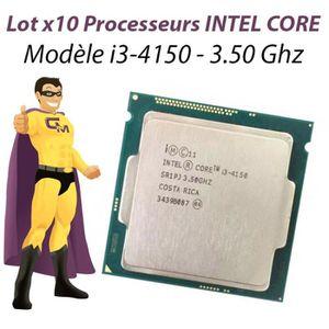PROCESSEUR Lot x10 Processeur CPU Intel Core I3-4150 3.5Ghz S