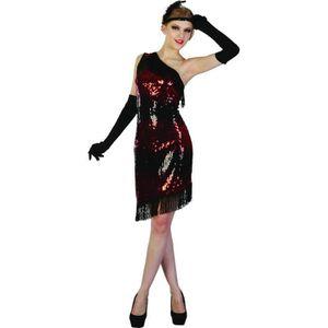 DÉGUISEMENT - PANOPLIE Déguisement charleston femme noir et rouge