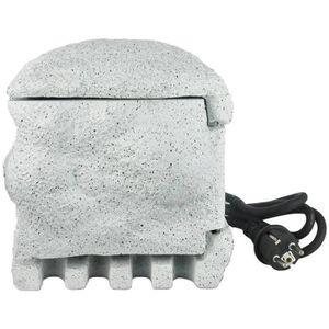 PIERRE - GABION PIERRE Bordurette de jardin imitation pierre avec télécom