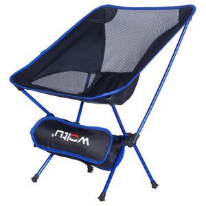 CHAISE DE CAMPING WOLTU Chaise de camping pliable et portable, Chais