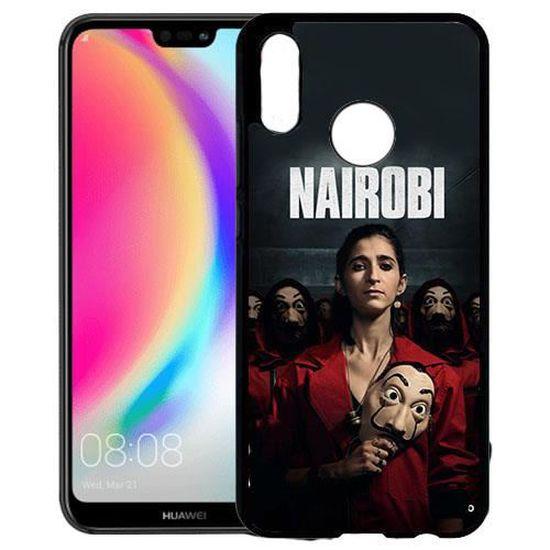 Coque Huawei P20 Lite La casa de papel NAIROBI - Cdiscount Téléphonie