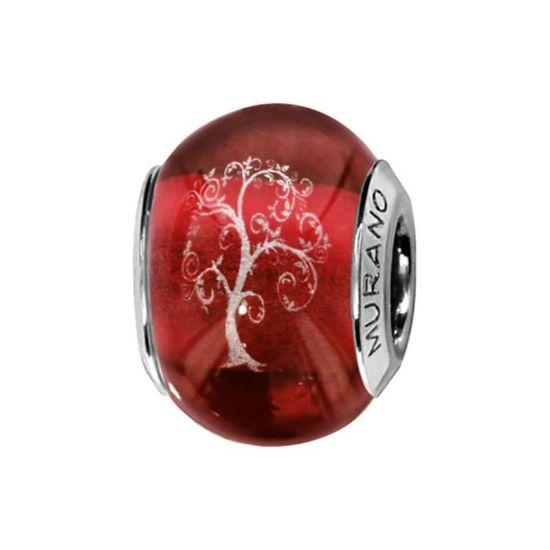 charm pandora murano rouge