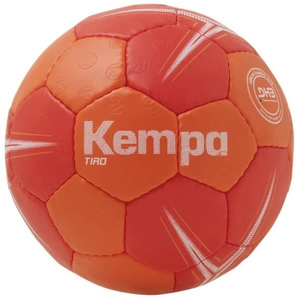 KEMPA Ballon de handball Tiro - Rouge et orange - Taille 0