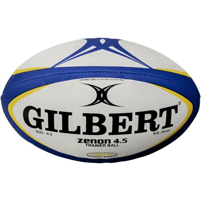 GILBERT Ballon de rugby ZENON 4.5 - Taille 4,5 - Pour école de rugby