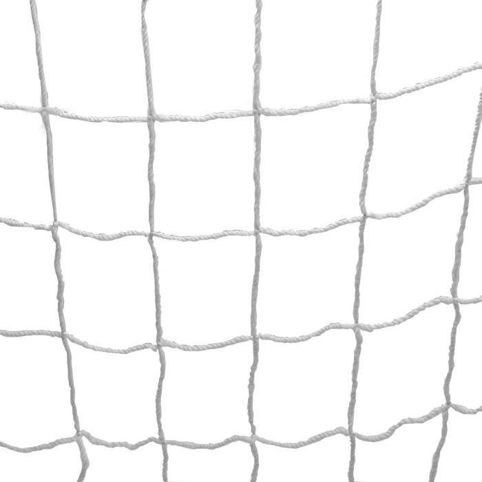 BELLE TECH Filet De But De Football De Remplacement De Taille Réelle De Filet De Net (8 * 6Ft)