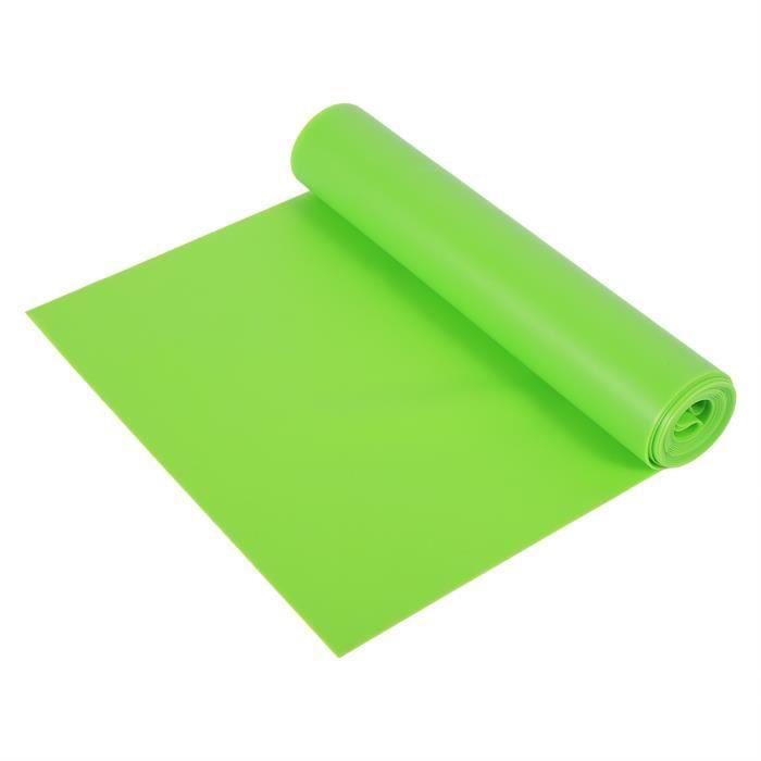 Romantic Tapis de sol 1.5M Fitness bande extensible de yoga-Bande de fitness en caoutchouc (Vert)
