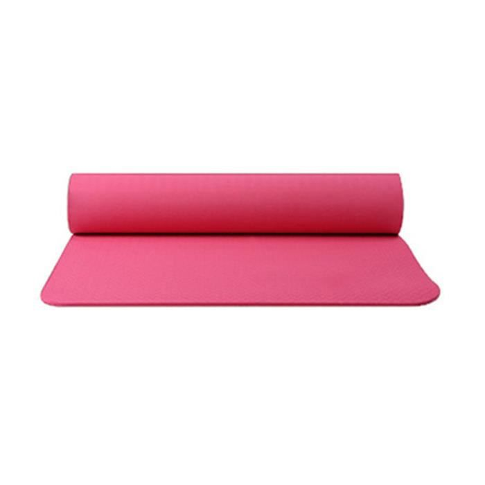 Tapis de yoga classique Yoga Mat Pro TPE Eco Friendly Antiderapant Fitness Tapis d'exercice Produit de yoga 24