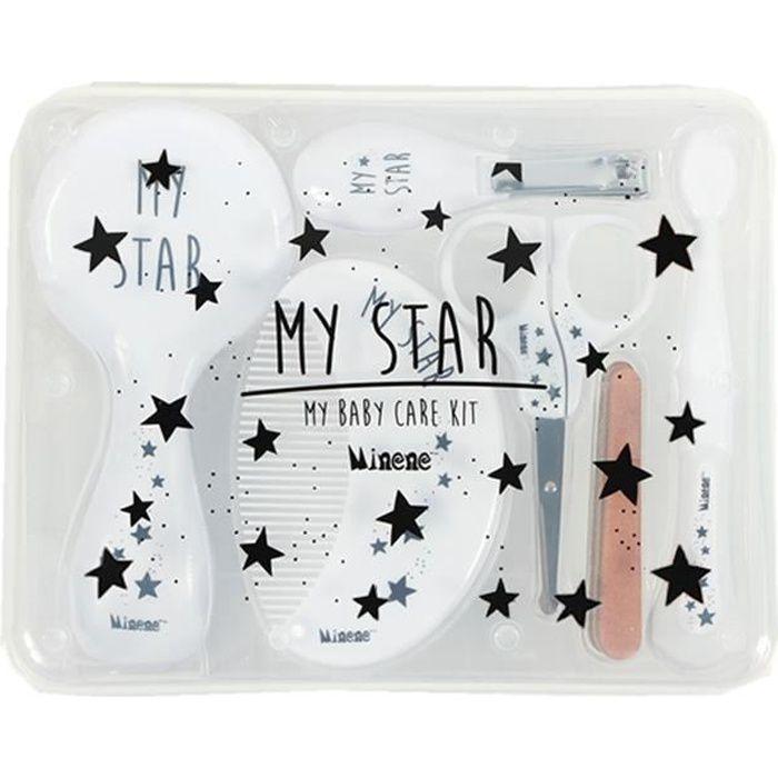 Trousse de toilette bébé, My Star Blanc
