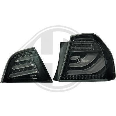 1216395 , Paire de feux arrière noir pour BMW SERIE 3 Berline de type E90 de 2008 a 2011