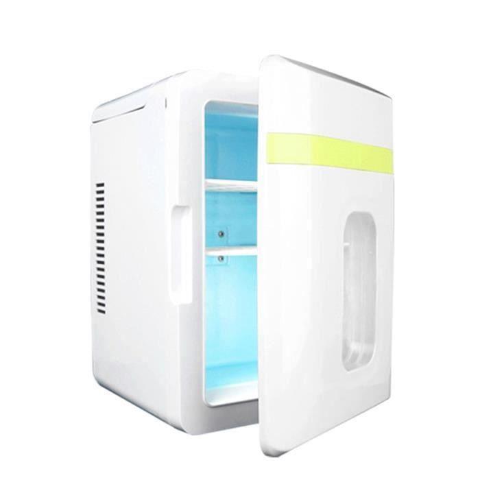 12V Mini Réfrigérateur Universel De Véhicule Portable Congélateur De Voiture Réchauffeur D'aliments 10L Réfrigérateur-214