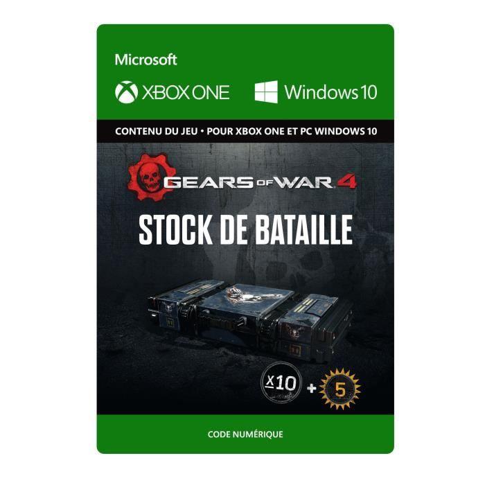 DLC Gears of War 4: Stock de Bataille pour Xbox One et Windows 10