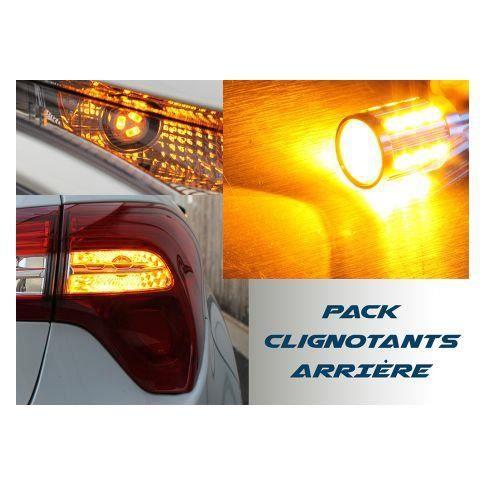Pack Clignotant arrière LED pour Peugeot 308 phase 1 et 2