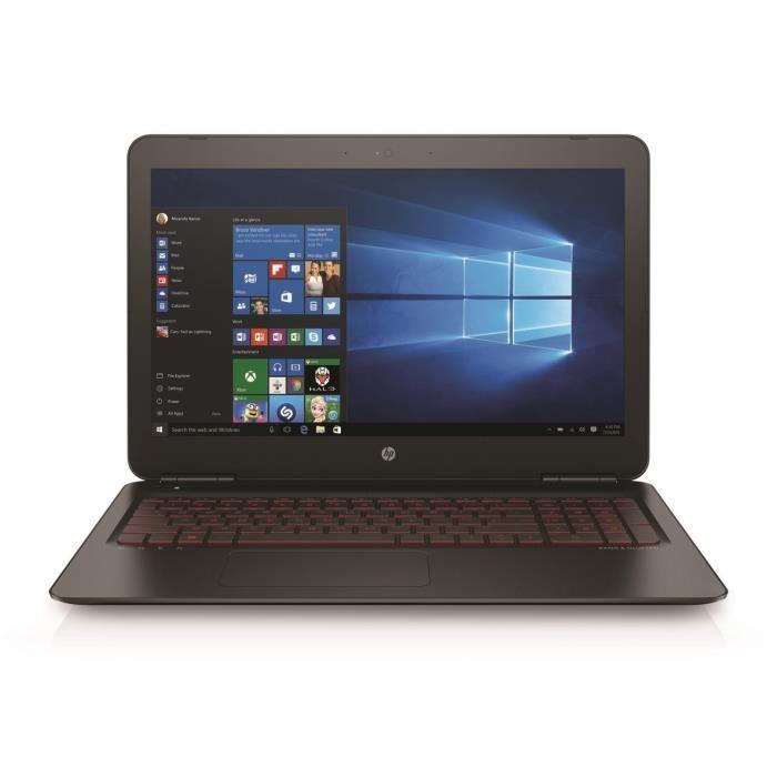 HP PC Gamer OMEN 15ax216nf -15,6-- RAM 8GO- Sans Windows- Intel Core i5- NVIDIA GTX1050- Stockage 1To+128 SSD