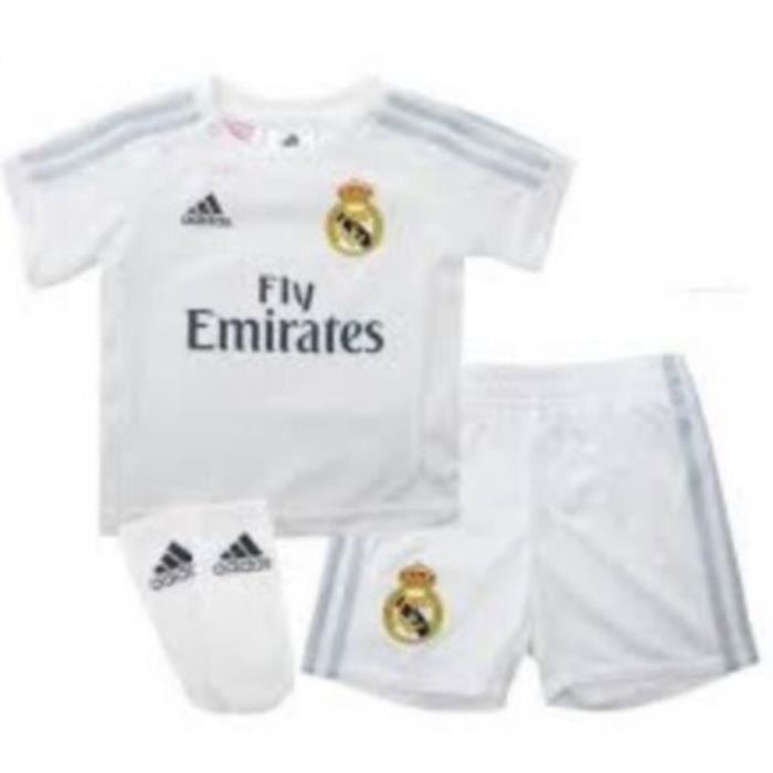 Mini-Kit Officiel Bébé Adidas Réal de Madrid 6-9 mois