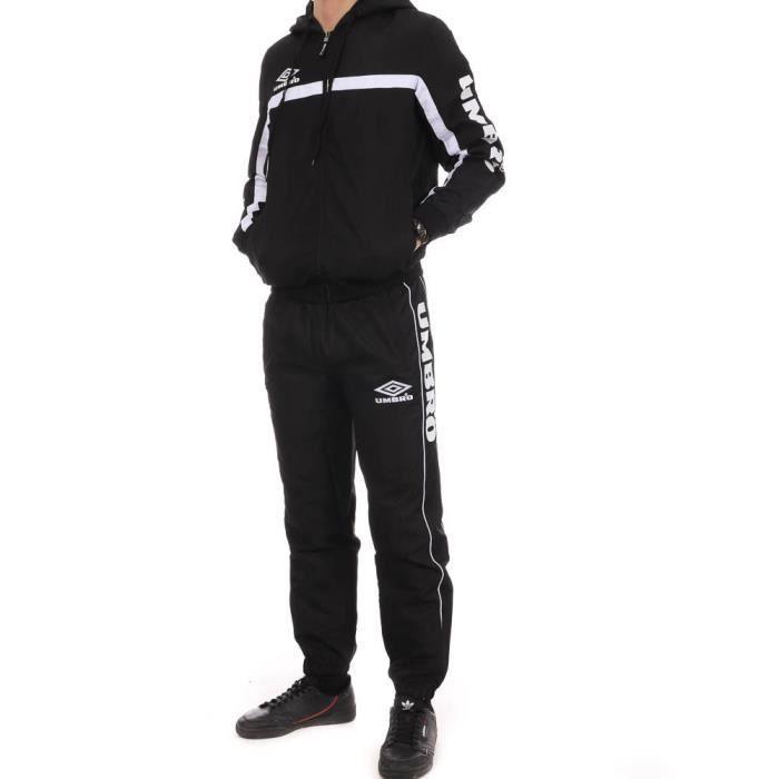 Ensemble de Survêtement Noir Homme Street WVN Suit