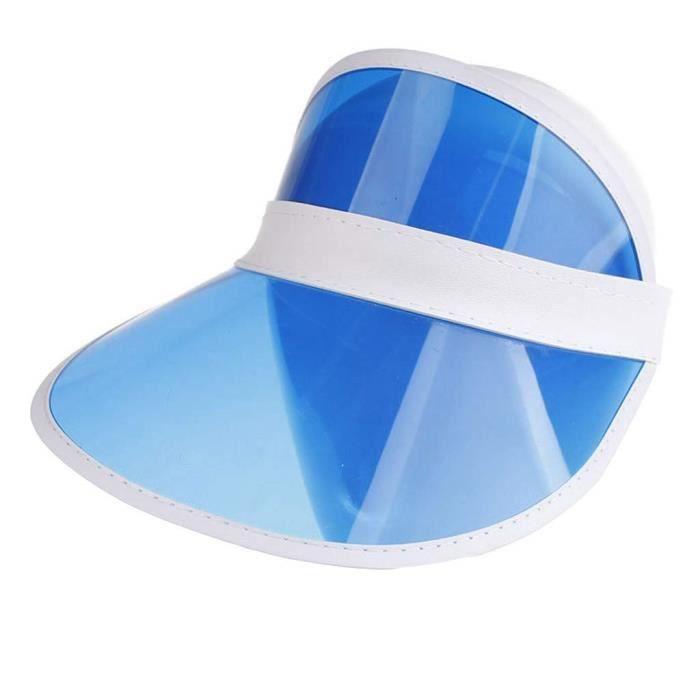 SHLK Casquette de Golf Casquette Anti UV Femmes Visière Soleil Long Bord Plus épais Sweatband Réglable Hat pour Tennis Running