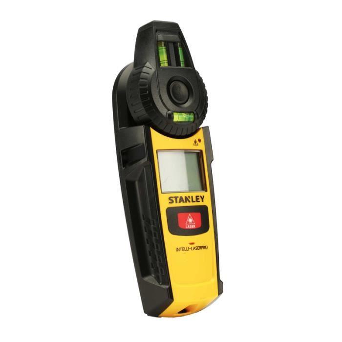 Detecteur de matériaux et niveau laser INTELLILASER PRO STANLEY 0-77-260
