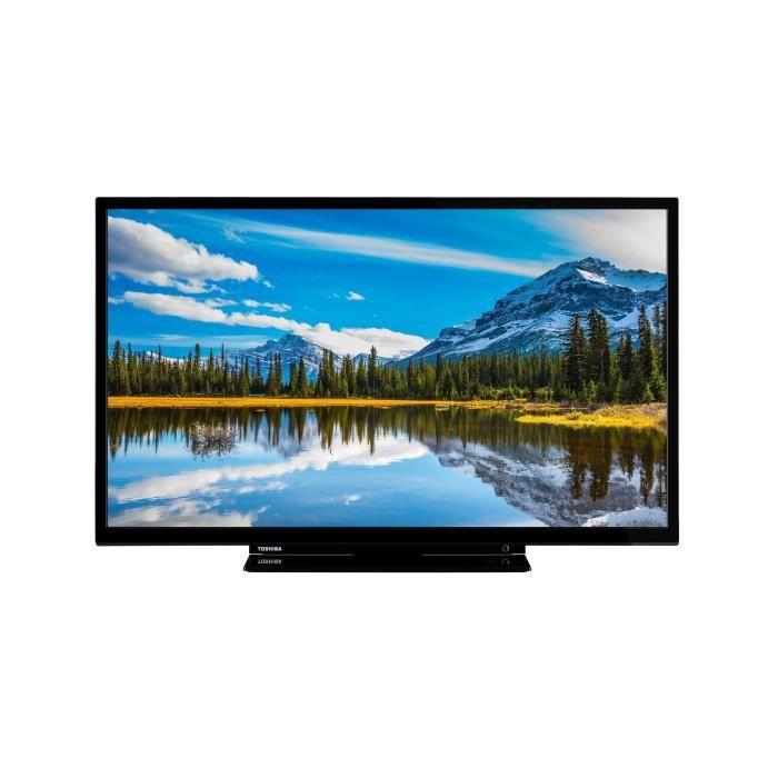 TOSHIBA 32W1863DG TV LED HD 32- - 3x HDMI™, 2x USB - Noir