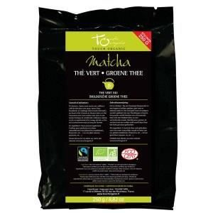 The vert matcha bio en poudre 250g