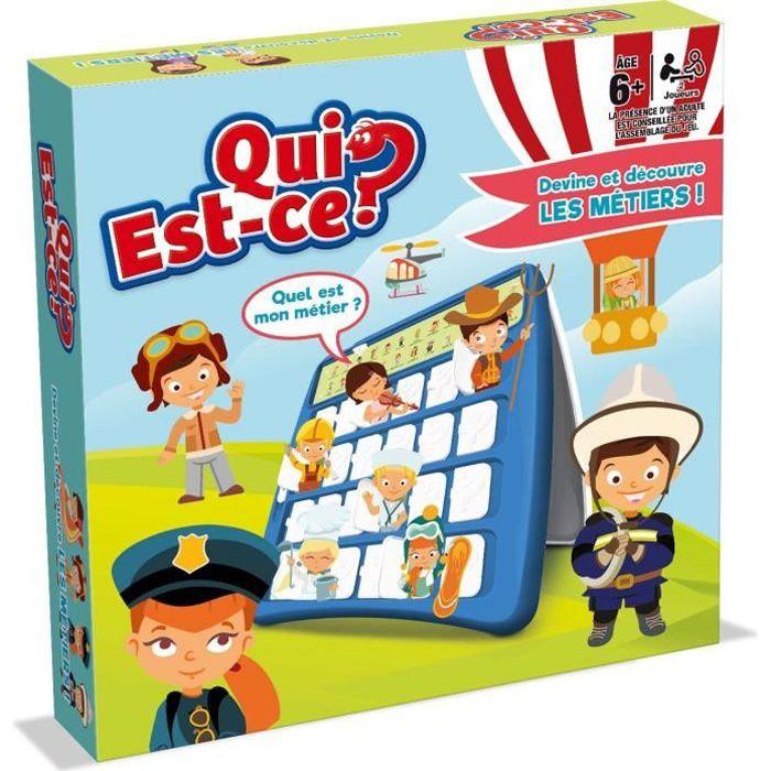 QUI EST-CE ? - Devine les Métiers - Version française - Jeu de questions réponses