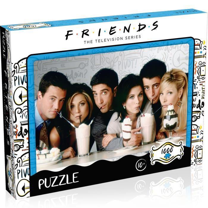 FRIENDS Puzzle Milkshake 1000 pièces