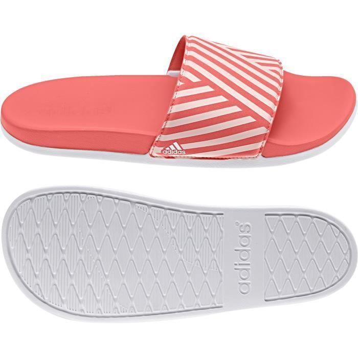 Sandales femme adidas adilette Cloudfoam Plus Graphic ...