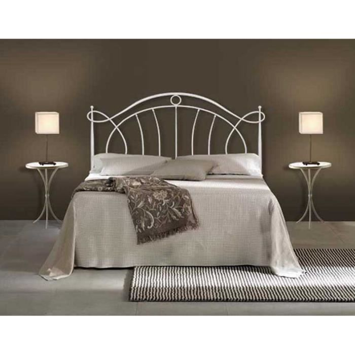 t te de lit en fer forg mod le elena achat vente. Black Bedroom Furniture Sets. Home Design Ideas
