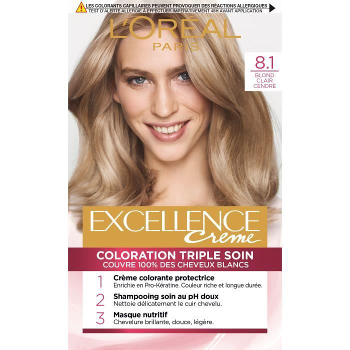 coloration loral paris excellence coloration blondes - Coloration Excellence
