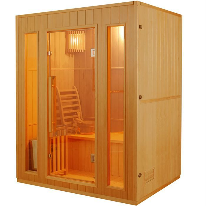 sauna finlandais achat vente pas cher. Black Bedroom Furniture Sets. Home Design Ideas