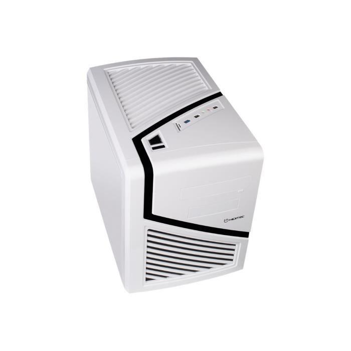 BOITIER PC  HIDITEC SNOW KUBE Cube micro ATX pas d'alimentatio