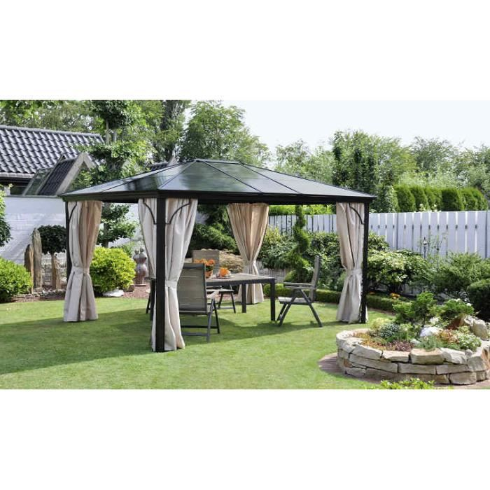 pergola toit dome achat vente pergola pergola toit dome cdiscount. Black Bedroom Furniture Sets. Home Design Ideas