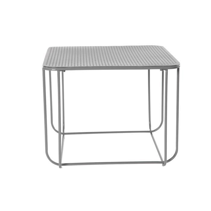 Table basse design m tal gris anthracite filar achat for Table basse gris anthracite