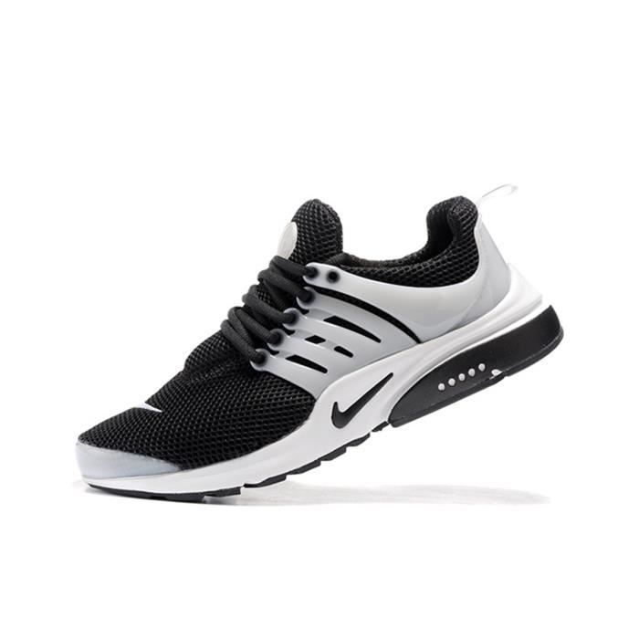 so cheap cheapest separation shoes Basket Nike Air Presto Femme Homme Running Chaussures Noir ...