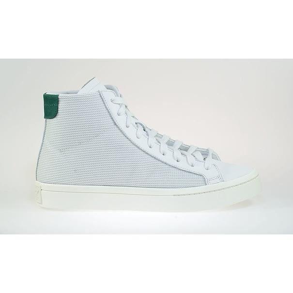adidas Basket Pointure 36 23 Court Vantage MID Blanc vert Réf : S78790 basket hausse