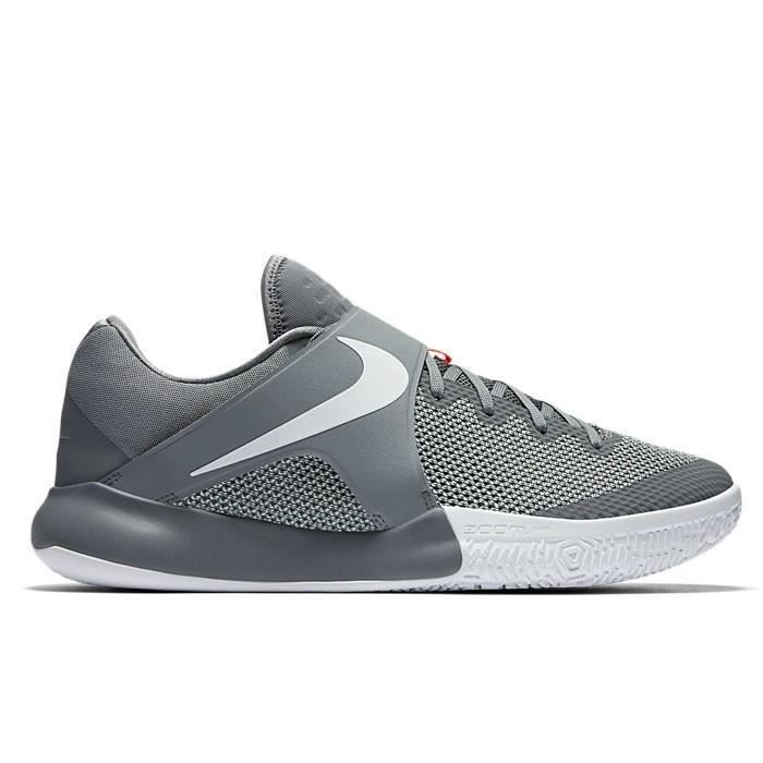 online store 99261 c626e Chaussure de Basketball Nike Zoom Live 2017 gris
