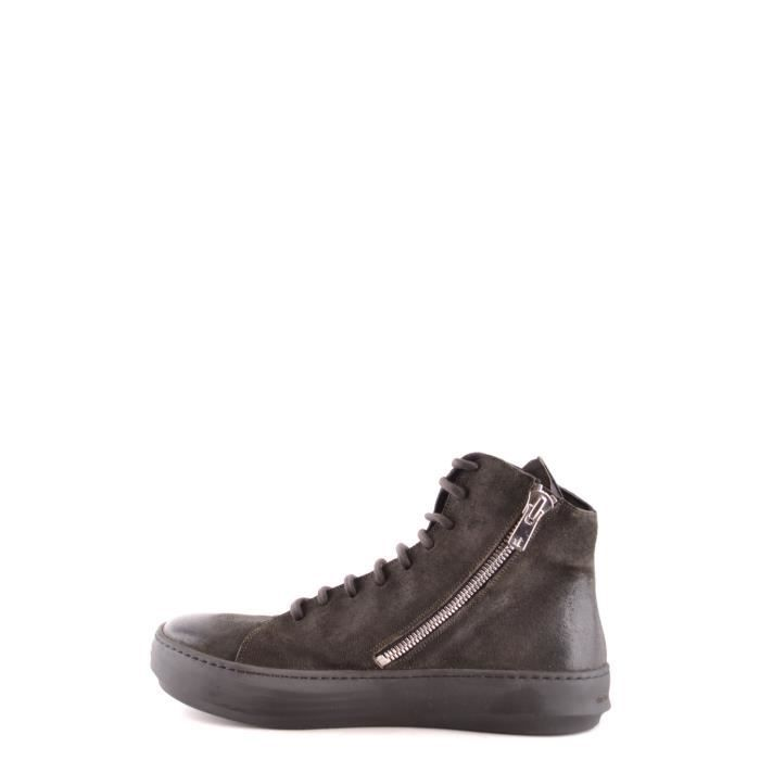 THE LAST CONSPIRACY HOMME TLC1685061 GRIS CUIR BOTTINES