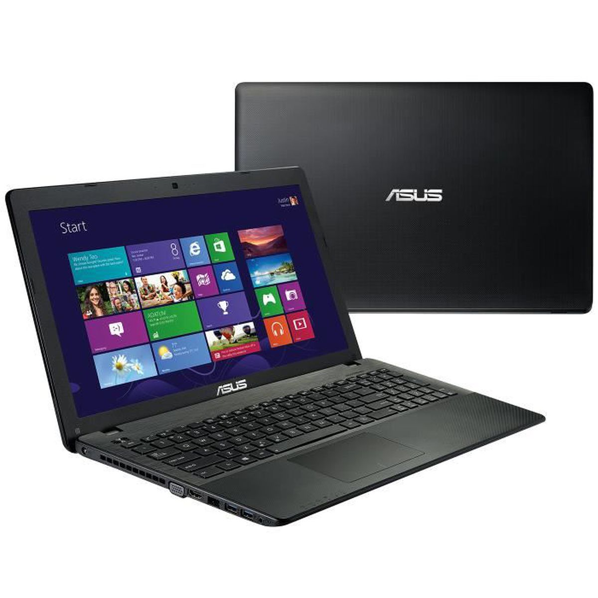 ordinateur portable asus 15 pouces x552mj sx046 intel quad core 4go ram 1to disque dur windows. Black Bedroom Furniture Sets. Home Design Ideas
