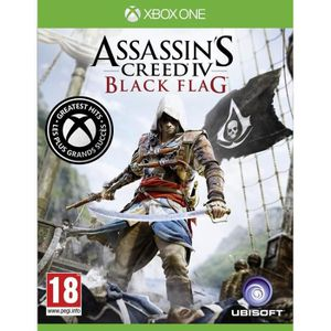JEU XBOX ONE Assassins Creed 4 Black Flag Greatest Hits 2 Jeu X