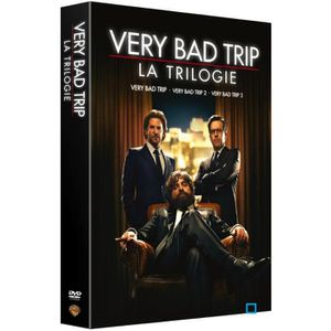 DVD FILM DVD Coffret Trilogie Verry bad trip