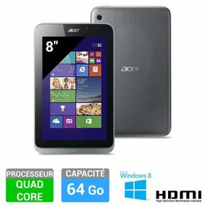 TABLETTE TACTILE Acer Tablette Iconia W4-820 64Go W8.1 PRO