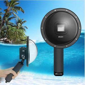 CAISSON ÉTANCHE Boîtiers étanches Dome Port pour GoPro Hero 7 Noir
