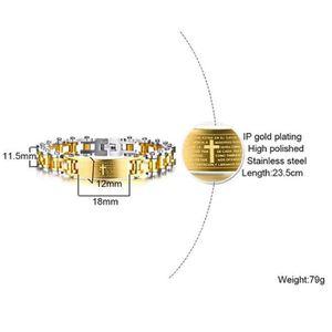 BRACELET - GOURMETTE Bracelet bijoux  homme -Bracelet pour hommes tenda