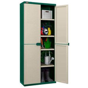 ARMOIRE DE CHAMBRE Casiers et armoires de rangement Couleur: Vert et