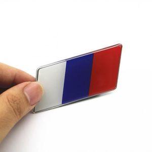1×3D F France Sticker Drapeau Voiture Emblème Frence Badge Autocollant Décoratif