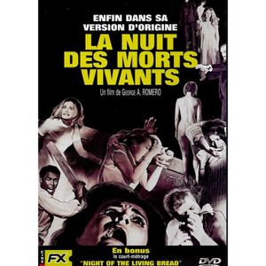 DVD FILM LA NUIT DES MORTS VIVANTS