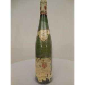 VIN BLANC riesling albert seltz blanc 1996 - alsace france