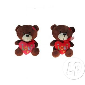 peluche coeur love achat vente jeux et jouets pas chers. Black Bedroom Furniture Sets. Home Design Ideas