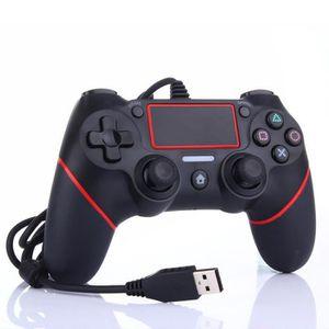 MANETTE JEUX VIDÉO Manette de jeu Bluetooth WireD pour Dualshock4 PS4
